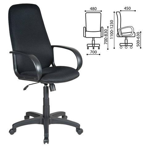 Кресло офисное CH-808AXSN, черное, CH-808AXSN/TW-1