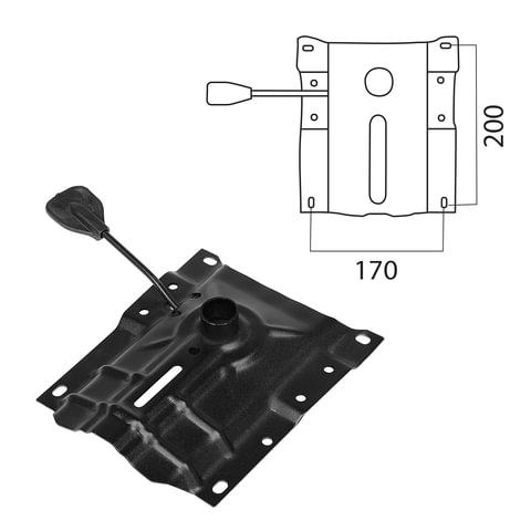 Механизм для кресла Up&Down, межцентровое расстояние крепежа 170х200 мм