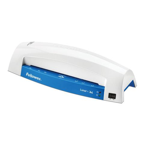 Ламинатор FELLOWES LUNAR+, формат A4, толщина пленки 1 сторона 75-125 мкм, скорость 30 см/мин, синий, FS-57428