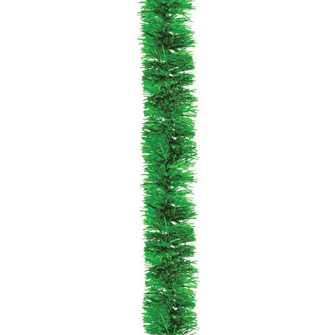 Мишура 1 штука, диаметр 50 мм, длина 2 м, зеленая, 5-180-5
