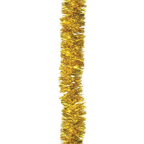 Мишура 1 штука, диаметр 50 мм, длина 2 м, золото, 5-180-5