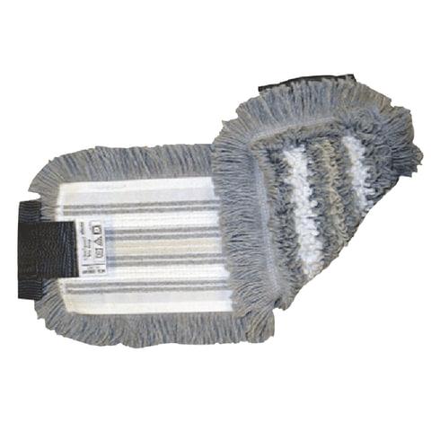 Насадка МОП плоская для швабры/держателя 40 см, уши (УВ), полиэстер/волокно/вискоза, VILEDA