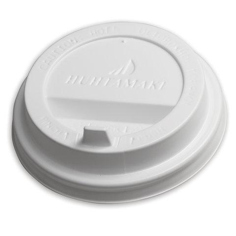 Одноразовая крышка для стакана (диаметр d-80), КОМПЛЕКТ 100 шт., ПС, ХУХТАМАКИ SP9, DW9