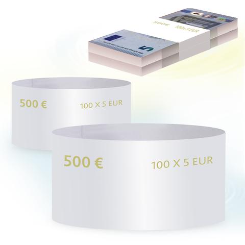 Бандероли кольцевые, комплект 500 шт., номинал 5 евро
