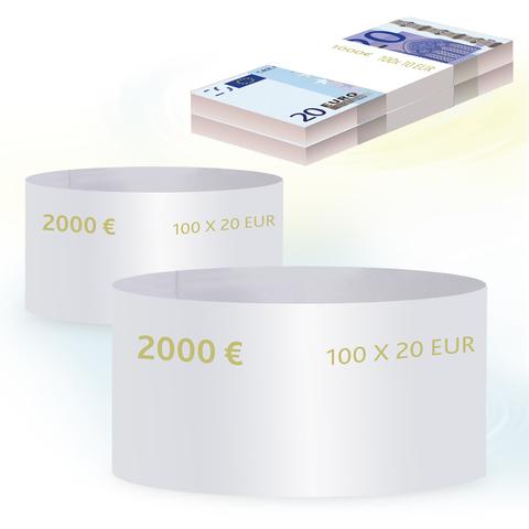 Бандероли кольцевые, комплект 500 шт., номинал 20 евро