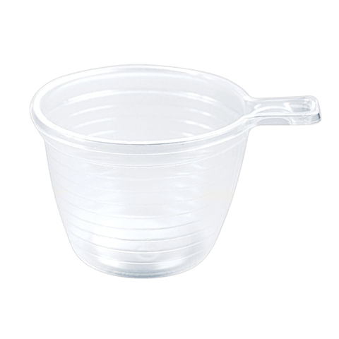 Одноразовая чашка, 180 мл, 1 шт., полипропилен (ПП), прозрачная, для чая/кофе, СТИРОЛПЛАСТ, Ч.80.81.01