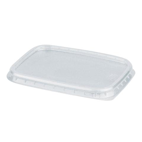 Крышка для контейнера, 108х82 мм, ПП, прозрачная, контейнеры 604250; -51; -52; -53; -54, СТИРОЛПЛАСТ, К/К-108