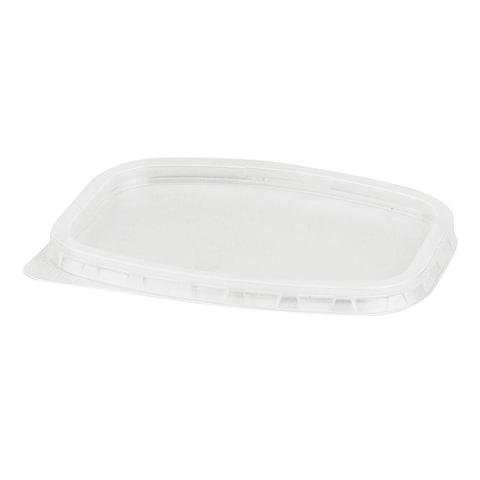 Крышка для контейнера, 139х102 мм, ПП, прозрачная, контейнеры 604256; -57; -58; -59, СТИРОЛПЛАСТ, К/К-139