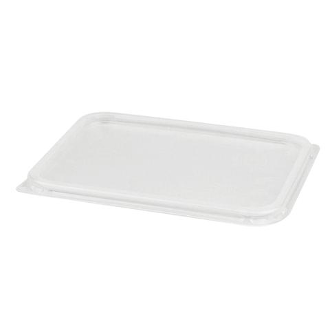 Крышка для контейнера, 179х132 мм, ПП, прозрачная, контейнеры 604261; -62; -63; -64; -65, СТИРОЛПЛАСТ, К/К-179
