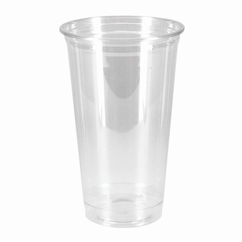 Одноразовые стаканы 500 мл, КОМПЛЕКТ 50 шт, прозрачные,