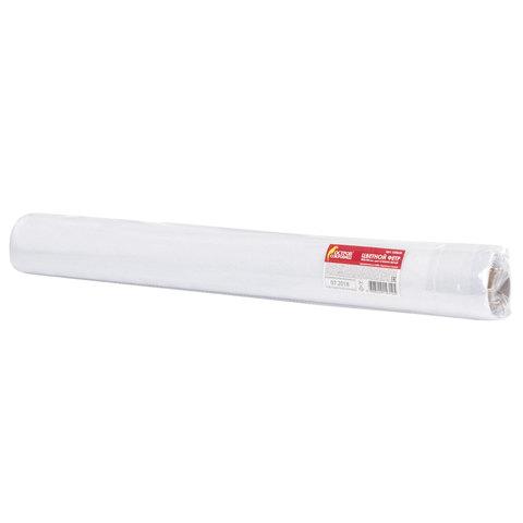 Цветной фетр для творчества в рулоне 500х700 мм, BRAUBERG/ОСТРОВ СОКРОВИЩ, толщина 2 мм, снежно-белый, 660635