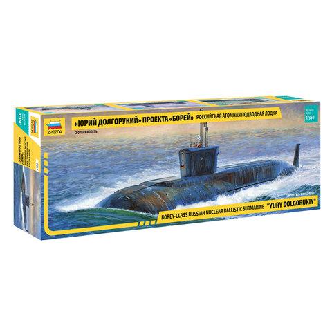 Модель для склеивания КОРАБЛЬ Подводная лодка атомная российская